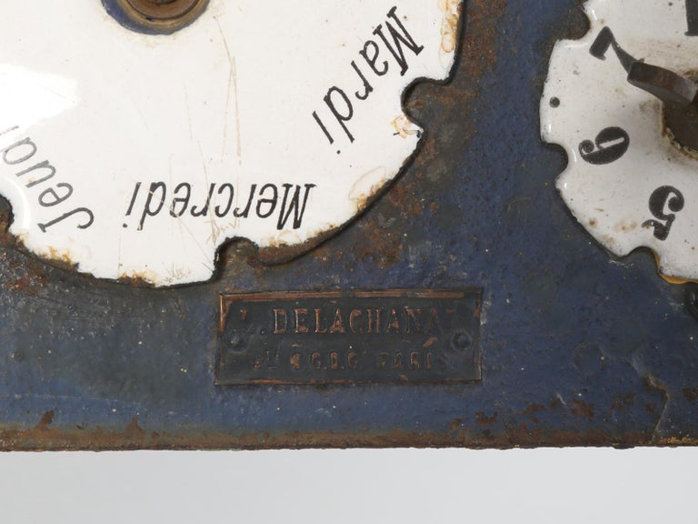 Antique French Mailbox from the Early 1900s For Sale 9