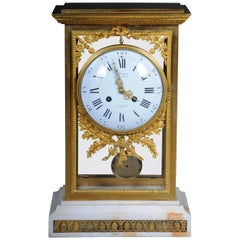 Antique French Mantelpiece / Clock, Deniere a Paris, circa 1880