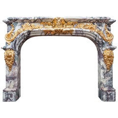 Antique French Mantelpiece