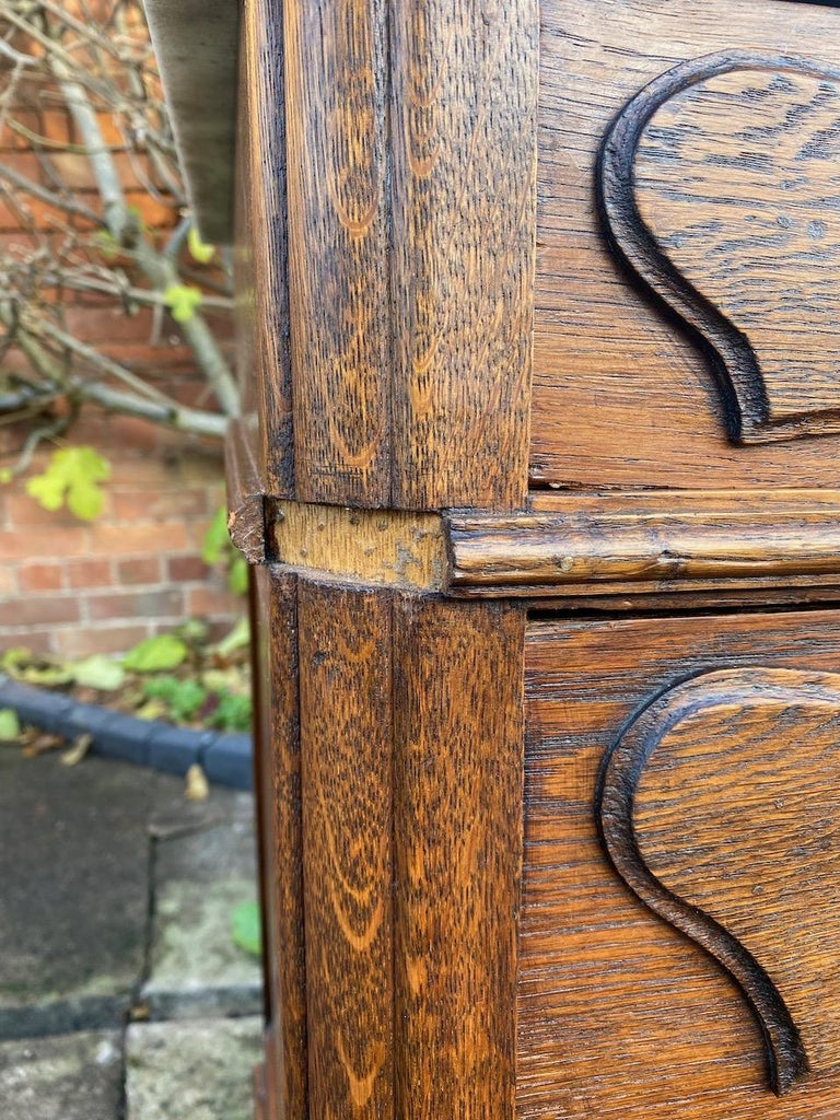 Antique French Marble Chest of Drawers Commode France circa 1890 Number 12 For Sale 7