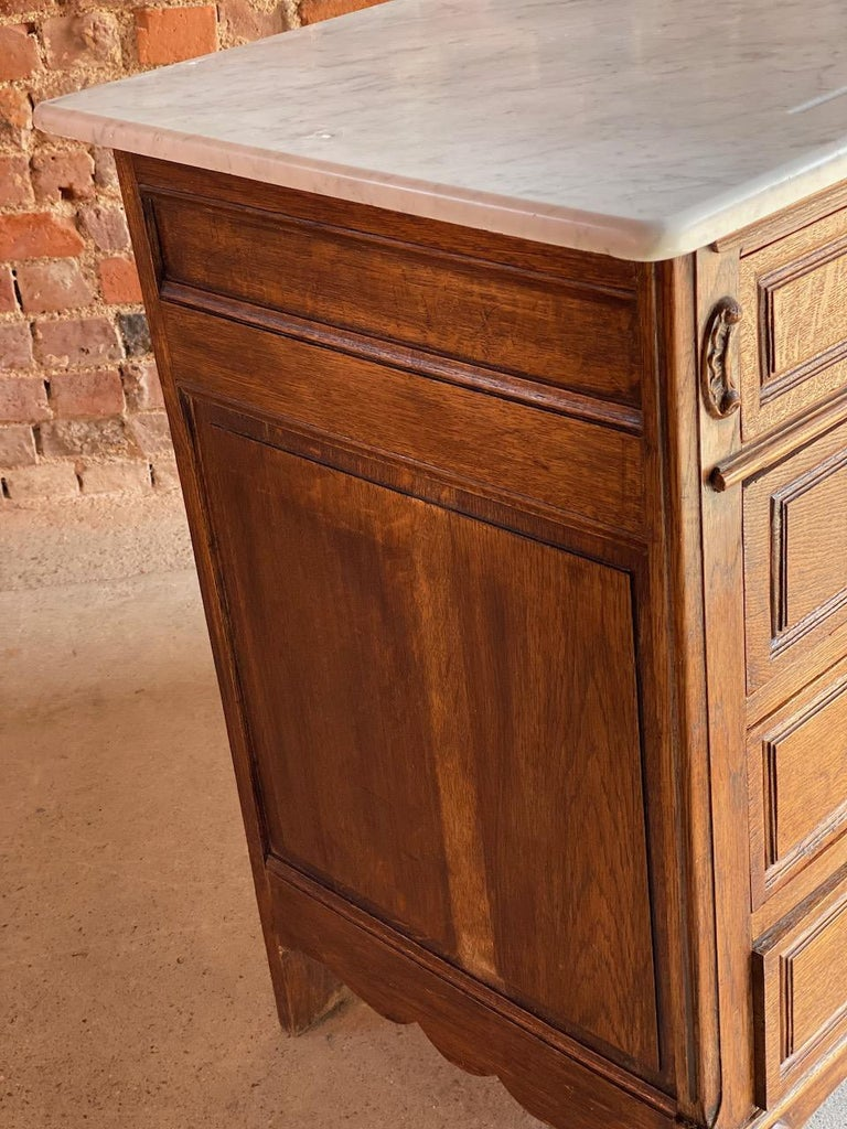 Antique French Marble Chest of Drawers, France, circa 1890 Number 1 3