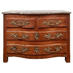 Antique French Marble-Top Commode