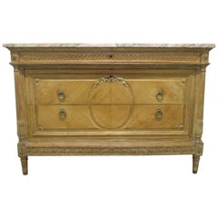 Antique French Marble-Top Dresser