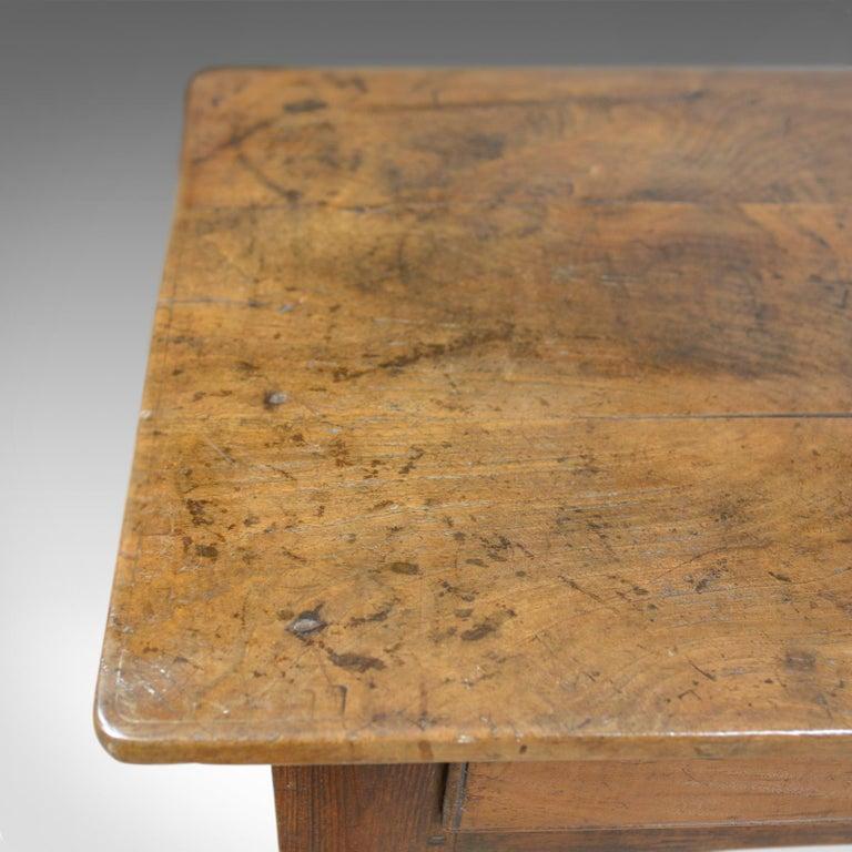 Antique French Mayoral Clerk's Desk, Oak, Elm, Mid-19th Century, circa 1850 2