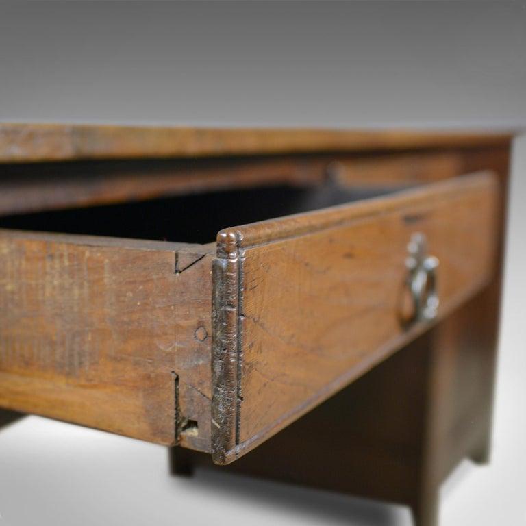 Antique French Mayoral Clerk's Desk, Oak, Elm, Mid-19th Century, circa 1850 3