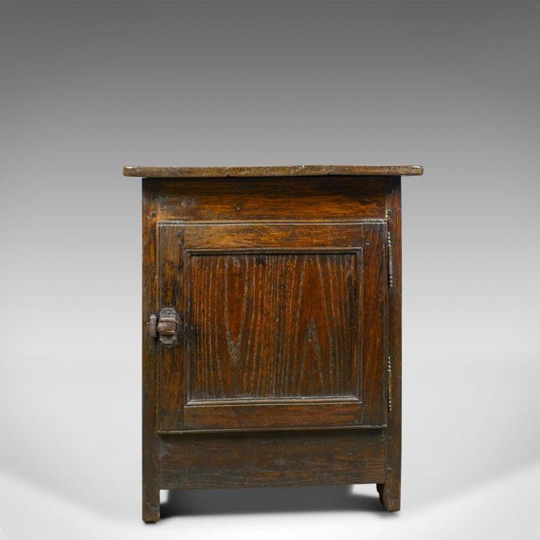 Antique French Mayoral Clerk's Desk, Oak, Elm, Mid-19th Century, circa 1850 5