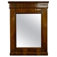 Antique Italian Venetian Mirror for Console
