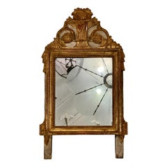 Antique French Neoclassic Mirror