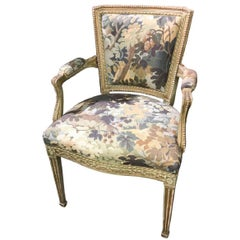 Antique French Neoclassical Armchair