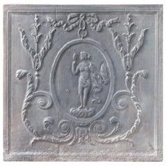 Antique French Neoclassical Venus Fireback, 19th Century