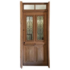 Antique French Oak Door, circa 1870