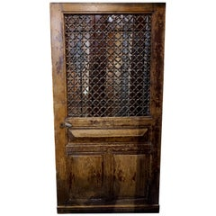 Antique French Oak Door, circa 1870