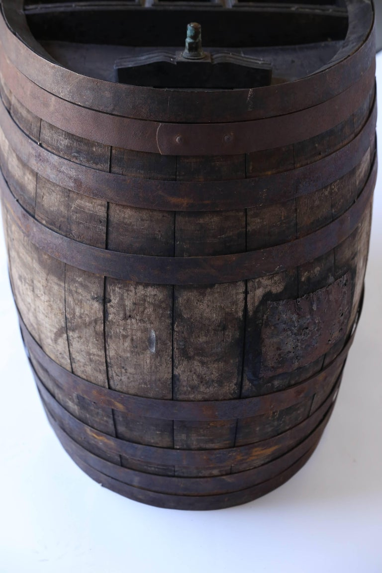 Antique French Oak Wine Barrel At 1stdibs