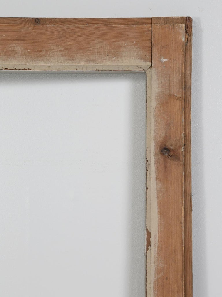 Antique French Original Paint Glazed Door, circa 1900 For Sale 6