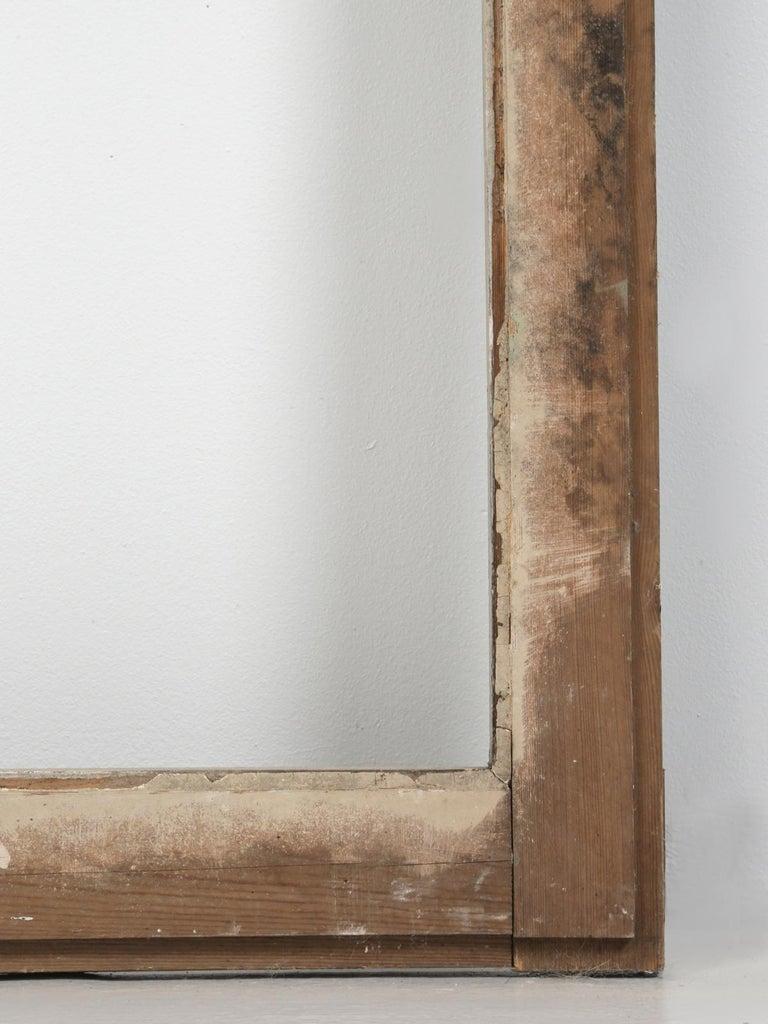 Antique French Original Paint Glazed Door, circa 1900 For Sale 10