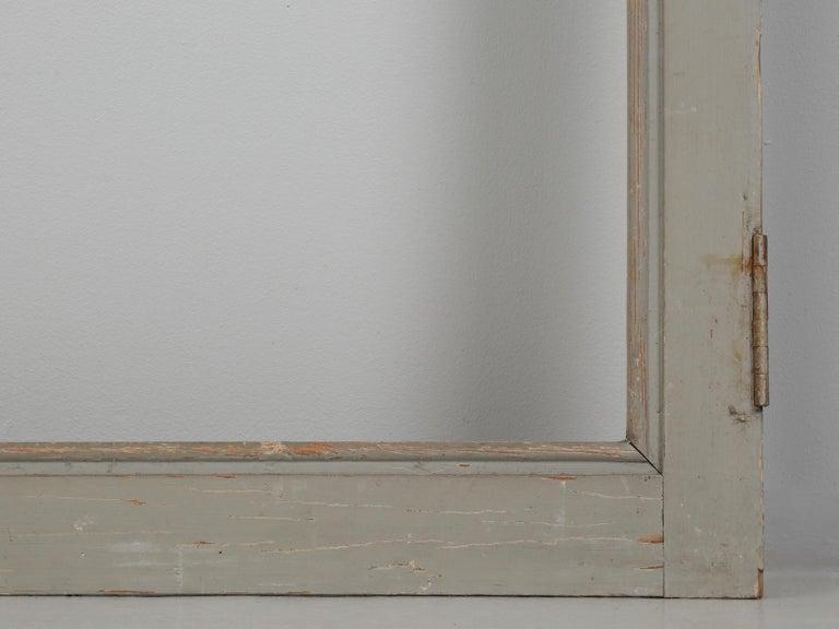Antique French Original Paint Glazed Door, circa 1900 For Sale 3