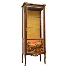 Antique French Ormolu-Mounted Display Cabinet