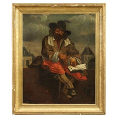 Antique French Painting from the Early 19th Century