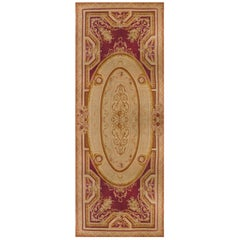Antique French Palace Size Aubusson Rug, circa 1890