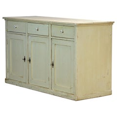 Antique French Pine Counter, 1920's