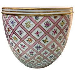 Antique French Porcelain Jardinière