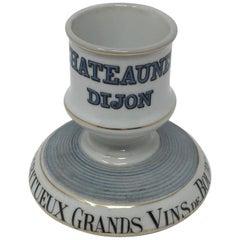Antique French Porcelain Match Striker
