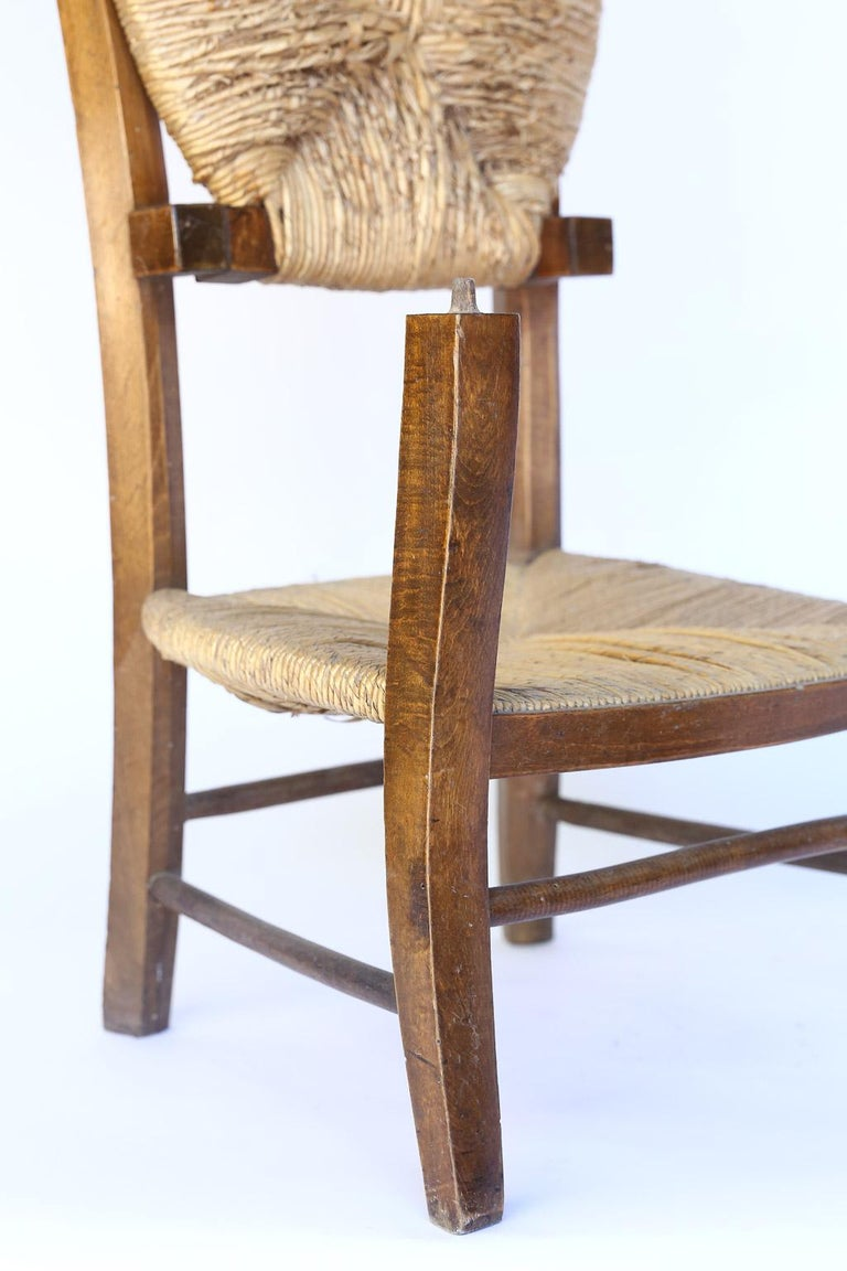 19th Century Antique French Prie Dieu, Prayer Chair For Sale