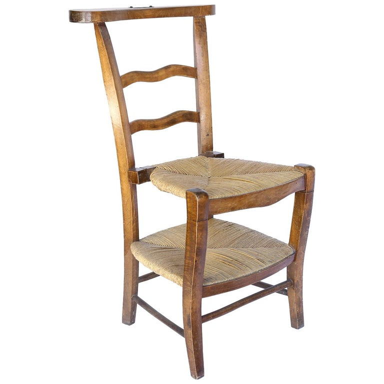 Antique French Prie Dieu, Prayer Chair For Sale