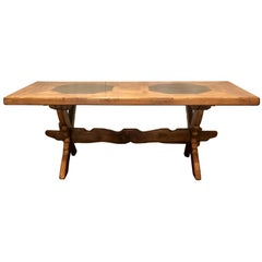 Antique French Provincial Farm Table
