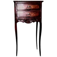 Antique French Regence Style Walnut Table