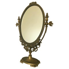 Antique French Regency Vanity Mirror