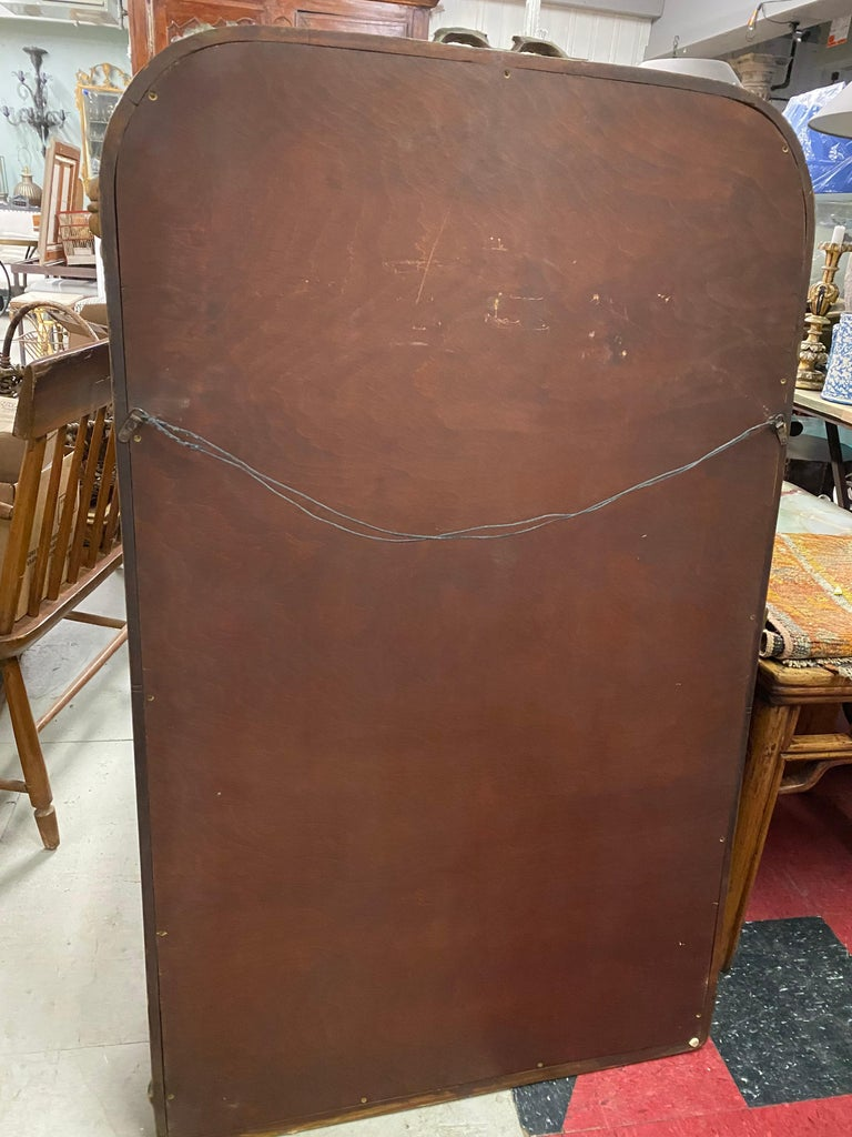 Antique French Rococo Style Mirror In Good Condition For Sale In Great Barrington, MA