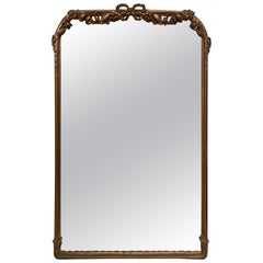 Antique French Rococo Style Mirror