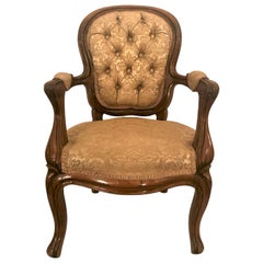 Antique French Rosewood Children's Chair