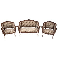 Antique French Salon Set in the Louis Philippe Style