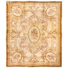Antique French Savonnerie Carpet, Louis XVI Style, circa 1900s