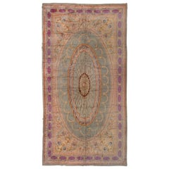 Antique French Savonnerie Mansion Carpet, circa 1900s