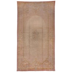 Antique French Savonnerie Mansion Carpet, Rococo Style, circa 1910s