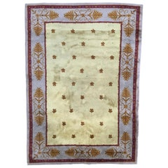 Antique French Savonnerie Rug Aubusson Rugs Carpets