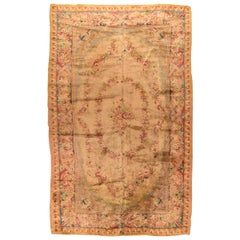 Antique French Savonnerie Area Rug