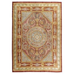 Antique French Savonnerie Rug in the Style of Louis XV
