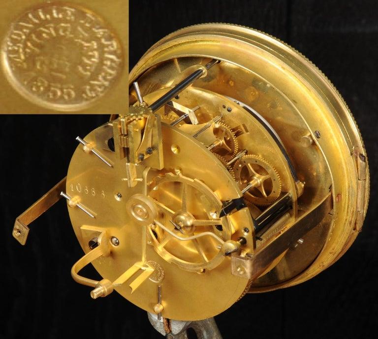 Antique French Sevres Porcelain and Gilt Bronze Clock 12