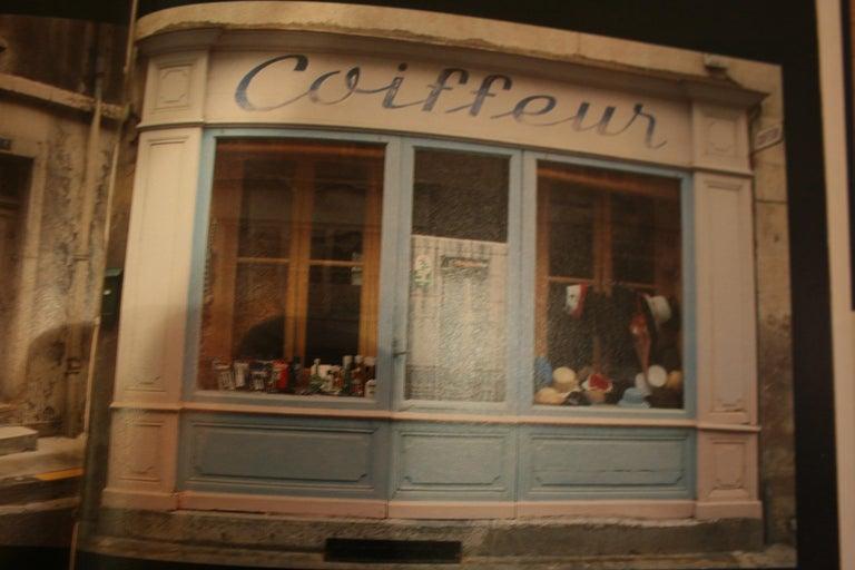 Antique French Shop Facade Panel, Made of Pine, Paris, circa 1900 For Sale 6