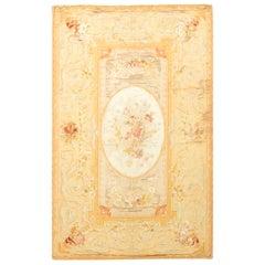 Antique French Silk Aubusson, circa 1890