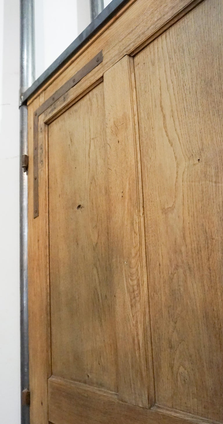 Antique French Single Door, circa 1860 In Good Condition For Sale In Dallas, TX