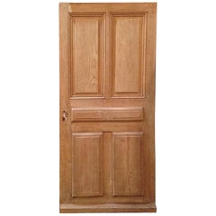 Antique French Single Door, circa 1860