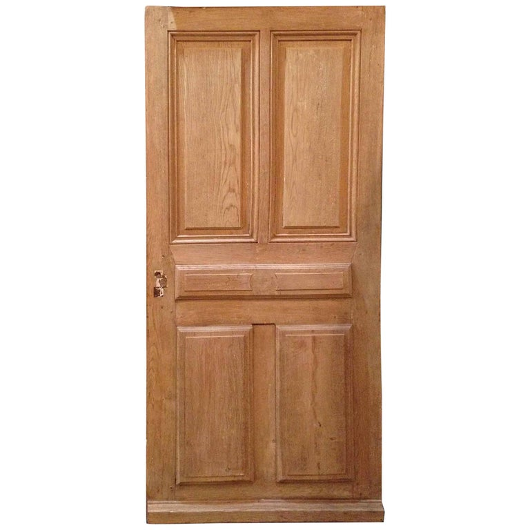 Antique French Single Door, circa 1860 For Sale
