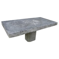 Antique French Stone Table on Base, circa 1880