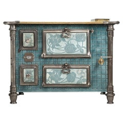 Antique French Stove or Could be a Great Bar from the Art Nouveau Period