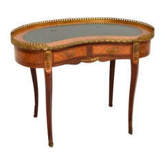 Antique French Style Kidney Shaped Desk